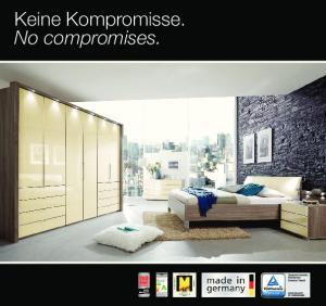 Keine Kompromisse. No compromises