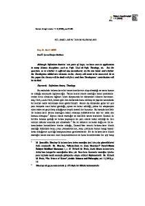 KELAMCILARIN TANIM KURAMLARI. Keywords: Definition theory, Theology