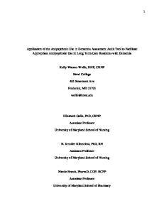Kelly Watson-Wolfe, DNP, CRNP. Hood College. 401 Rosemont Ave. Frederick, MD Elizabeth Galik, PhD, CRNP. Associate Professor