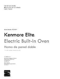 Kenmore Elite Electric Built-In Oven