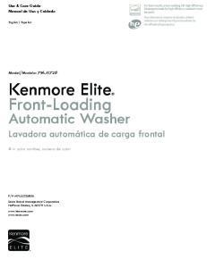 Kenmore Elite Front-Loading