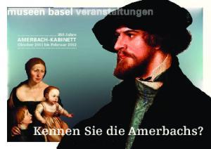 Kennen Sie die Amerbachs?