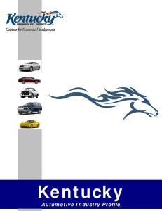 Kentucky Automotive Industry Profile