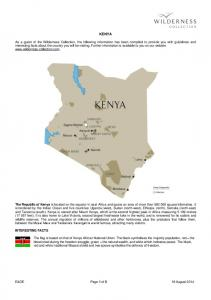 KENYA INTERESTING FACTS