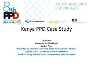 Kenya PPD Case Study