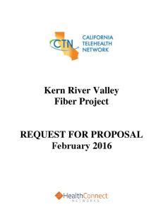 Kern River Valley Fiber Project