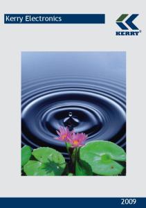 Kerry Electronics 2009