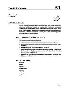 KEY CONCEPTS AND PROCESS SKILLS