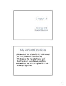 Key Concepts and Skills