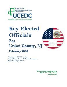 Key Elected Officials