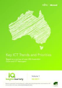 Key ICT Trends and Priorities