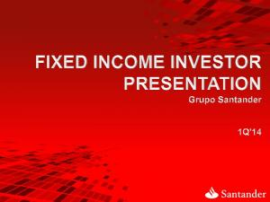 Key Points to explain Grupo Santander