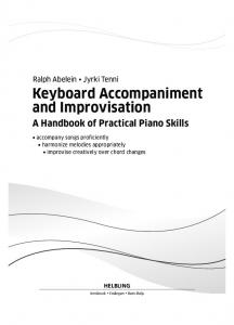 Keyboard Accompaniment and Improvisation