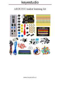 keyestudio ARDUINO maker learning kit