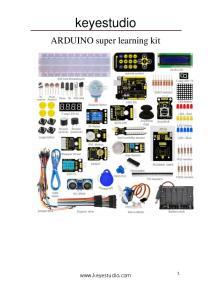 keyestudio ARDUINO super learning kit