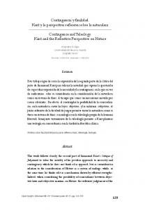 Keywords: judgment, Kant, reflective judgments, teleology, Theology
