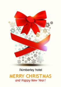 kimberley hotel the MERRY CHRISTMAS and Happy New Year!