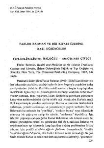 Kimlik), New York, The Crossroad Publishing Company, 1987, 149 sayfa
