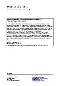 Kinder im Verkehr: Praxisbezogenes EU-Handbuch