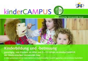 Kinderbildung und -betreuung