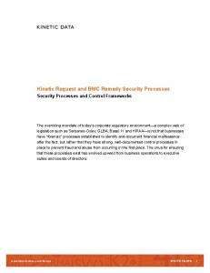 Kinetic Request and BMC Remedy Security Processes