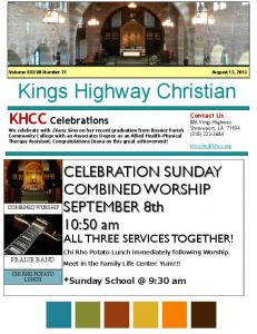 Kings Highway Christian