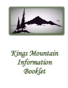 Kings Mountain Information Booklet