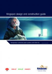 Kingspan design and construction guide