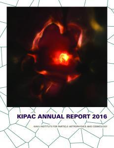 KIPAC ANNUAL REPORT 2016