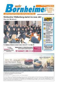 Kirchenchor Walberberg startet ins neue Jahr