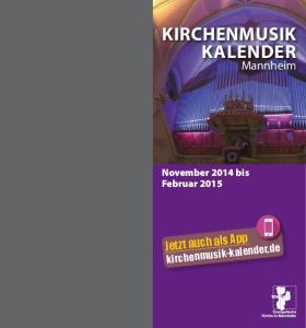 Kirchenmusik Kalender