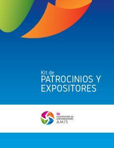 Kit de PATROCINIOS Y EXPOSITORES