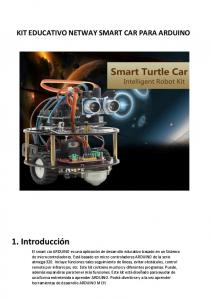 KIT EDUCATIVO NETWAY SMART CAR PARA ARDUINO