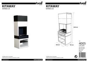 KITAWAY KITAWAY BARBECUE BARBECUE. 223 cm. 84 cm. 63 cm