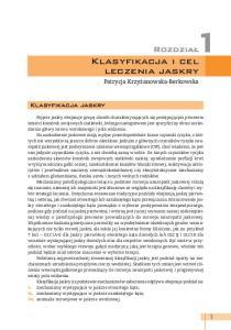 Klasyfikacja i cel leczenia jaskry