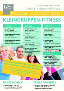 Kleingruppen-Fitness