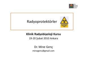 Klinik Radyobiyoloji Kursu