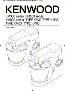 KM330 series, KM350 series, KM630 series, TYPE KM33,TYPE KM35, TYPE KM63, TYPE KM66. instructions
