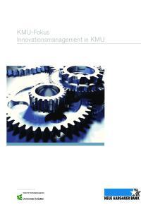KMU-Fokus Innovationsmanagement in KMU