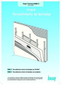 Knauf Revestimiento de fachadas