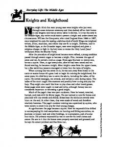 Knights and Knighthood