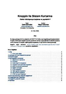 Knoppix ile Sistem Kurtarma