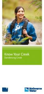 Know Your Creek. Dandenong Creek