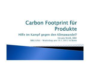 KNU - Workshop am in Bonn