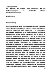 Knut Rauchfuss 1. Zusammenfassung