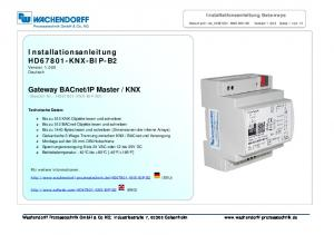 KNX (Bestell-Nr.: HD67801-KNX-BIP-B2)