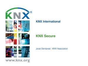 KNX International KNX Secure