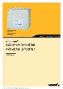 KNX Master Control W8