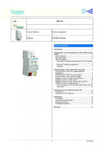 KNX Router