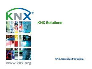 KNX Solutions. KNX Association International